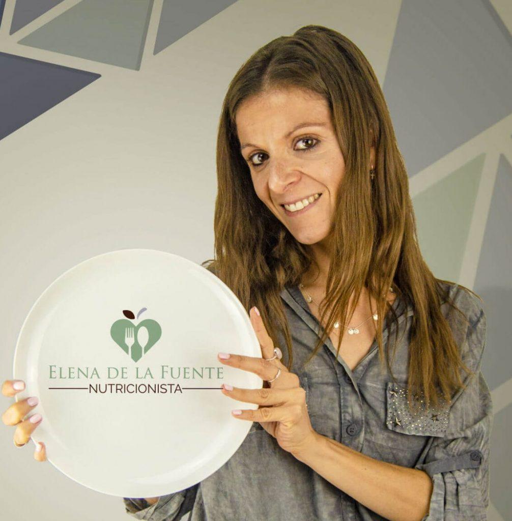Elena de la Fuente nutricion plato