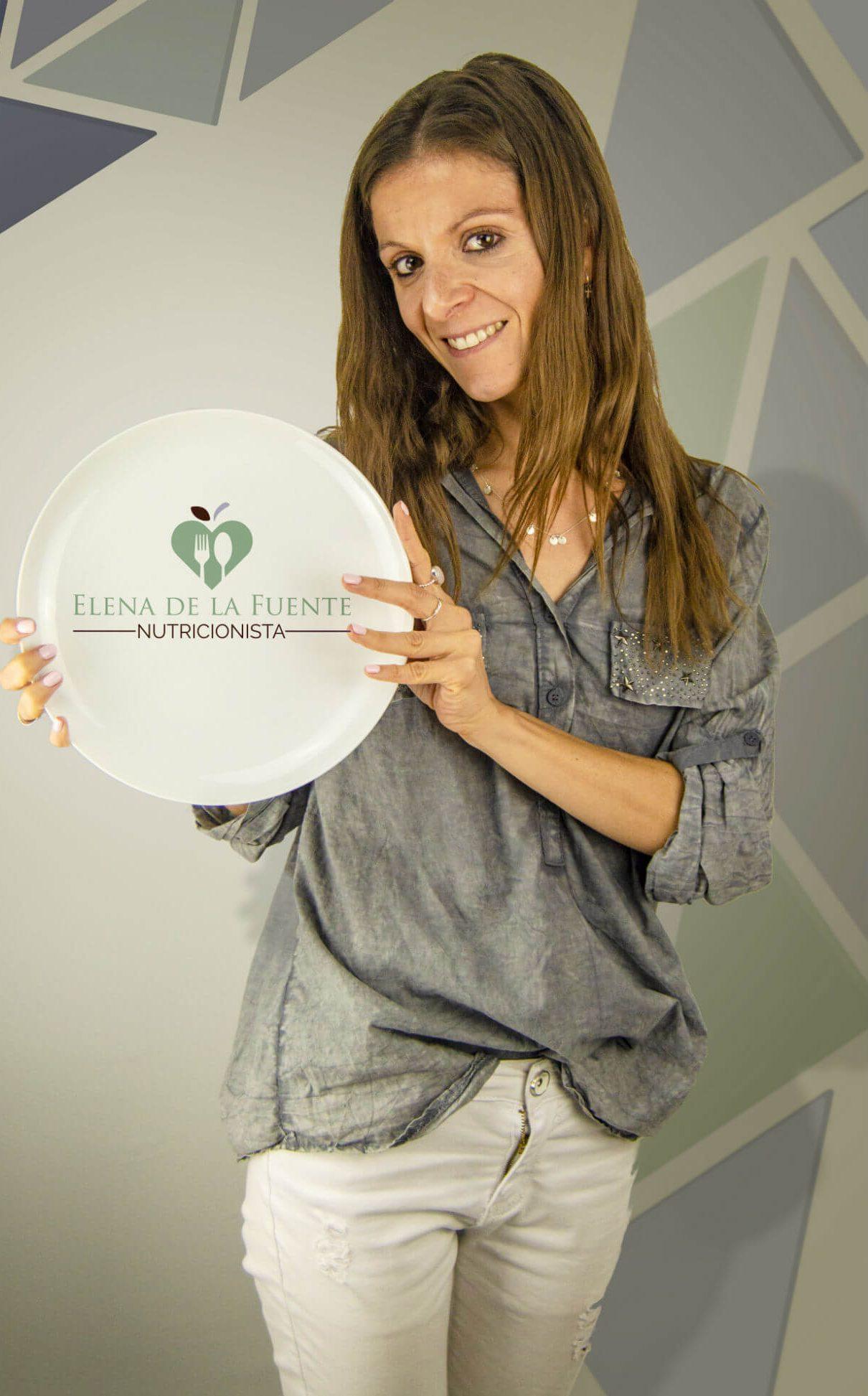 Nutricionista Elena de la Fuente plato