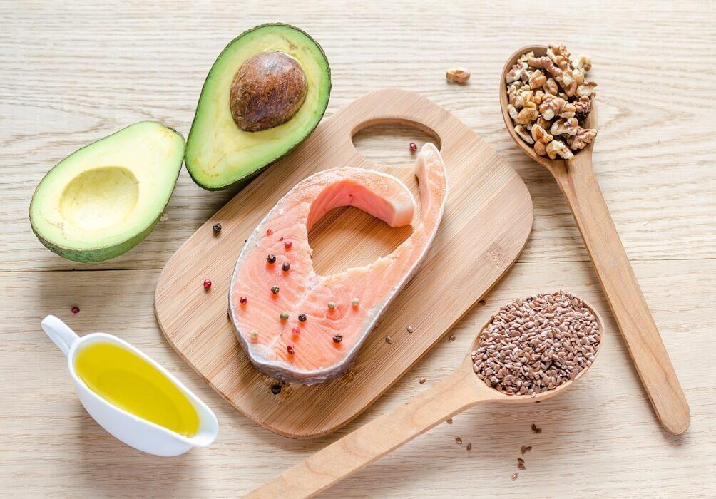 Fondo salmon saludable Nutricionista de la fuente